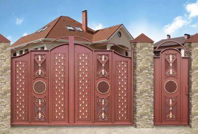 Ворота Династия (новые)