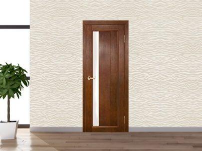 Дверь Вега 6 ЧО, темный орех