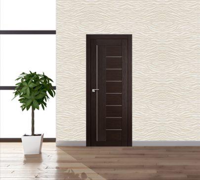 Дверь 17X Венге Мелинга Стекло Матовое
