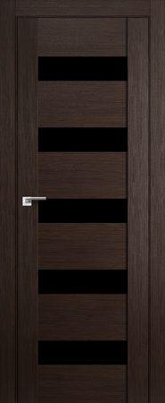 Дверь 29X Венге Мелинга Чёрный триплекс