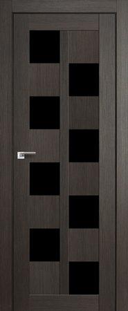 Дверь 36X Грей Мелинга Чёрный триплекс