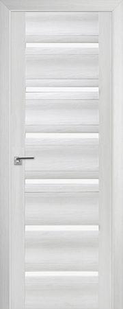 Дверь 57x Эш Вайт мелинга, стекло матовое