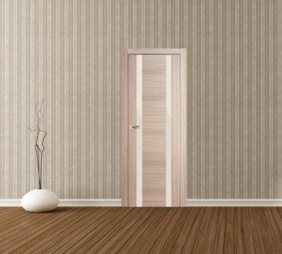 Дверь 63x Капучино мелинга, перламутровый лак