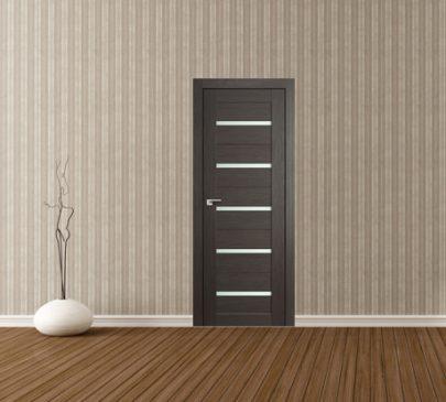 Дверь 7X Грей Мелинга Стекло Матовое