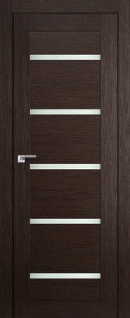 Дверь 7X Венге Мелинга Стекло Матовое