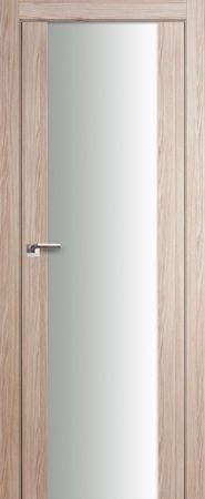 Дверь 8X Капучино Мелинга Белый триплекс