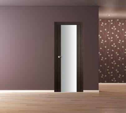 Дверь 8X Венге Мелинга Белый триплекс