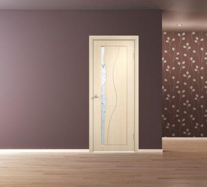Дверь Бриз ДО Беленый дуб
