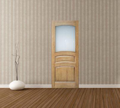 Дверь ДО 16 Светлый лак