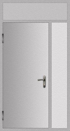Дверь техническая 2 добор