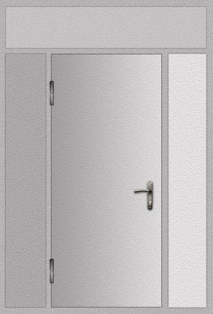 Дверь техническая 3 добор