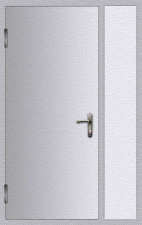 Дверь техническая добор боковой
