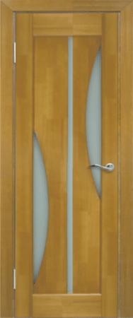 Дверь ЧО модель №5 песочный (в размере 600)