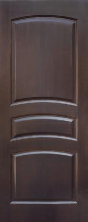 Дверь ДГ 16 Тёмный лак