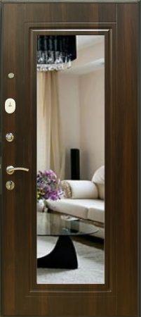 Дверь Элит №1 с зеркалом