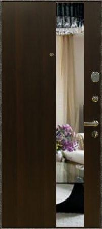 Дверь Бастион №4 с зеркалом