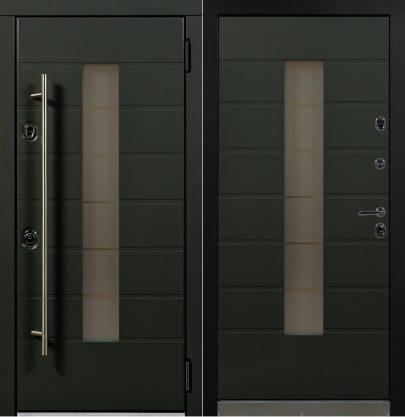 Дверь Аляска графит