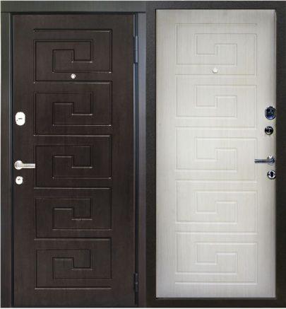 Дверь серии D-2 эшвайт