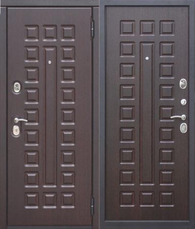 Дверь серии D-2 венге