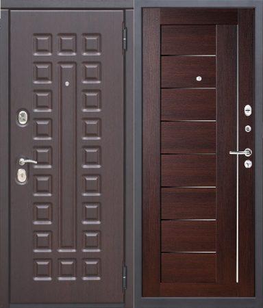 Дверь серии D-4 венге