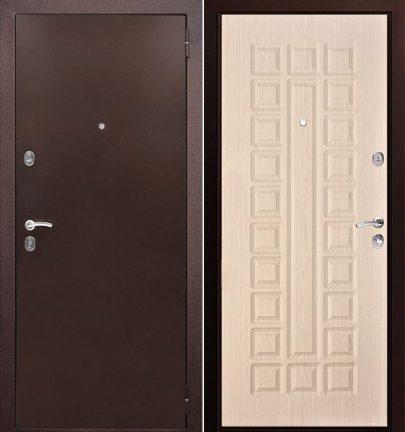 Дверь серии D-1 эшвайт