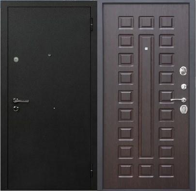 Дверь серии D-1 венге